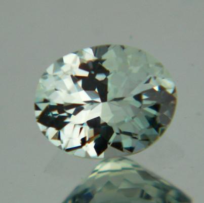 Ice green blue Montana sapphire