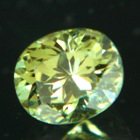 namibian demantoid with highest brilliancy