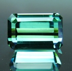 beautiful rectangular cut natural tourmaline