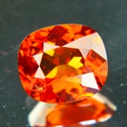 natural hessonite garnet