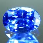 kashmir blue sapphire oval shape untreated