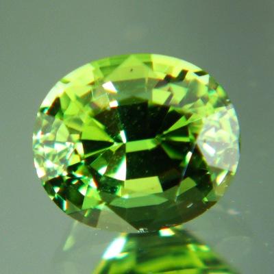 Neon green African tourmaline