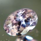 Unheated pink sapphire sparkling like diamond