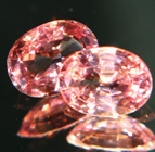 padparadscha, titanite, zircon, silimanite, sapphire natural unheated and untreated gemstones
