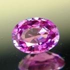 Reddish purple Ceylon sapphire