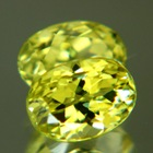 pair sillimanite gemstones