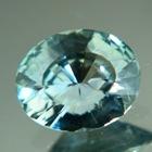 Metallic blue green Montana sapphire