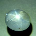 well shaped star sapphire unheated