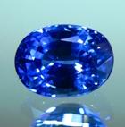 blue sapphire untreated precision cut