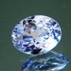 Sky blue violet Ceylon sapphire