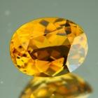 Sparkly deep golden yellow Mozambique Tourmaline
