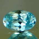 Pool to sky blue Australian Zircon.