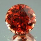 Terracotta orange Ceylon Zircon.