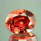 Pinkish maroon Ceylon zircon