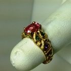 unheated padparadscha ring