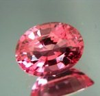 Sunset pink orange Ceylon spinel