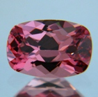 Mild pinkish orange Badakshan Padparadscha spinel
