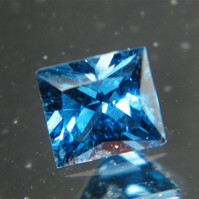 precision cut extra fine blue spinel from Burma, unheated and natural, no window, IGI report
