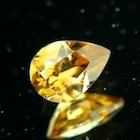 Autumnal orange Ceylon Zircon