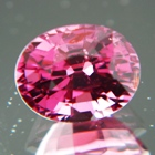 Rich purplish pink Burmese spinel