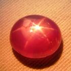 Mild reddish pink Ceylon star Sapphire
