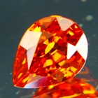 Fire red orange Mandarine spessartite