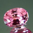 Rose pink Tajik spinel