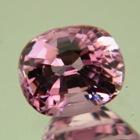 Mild lavender pink Ceylon spinel