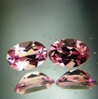 pair unheated pink spinels