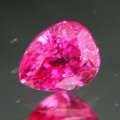 Neon reddish pink Ceylon sapphire