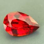dark pear red spessartite