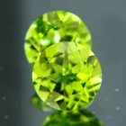 hawaiian peridot pair untreated