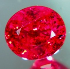 round red ruby unheated