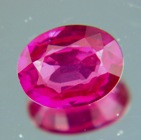 ruby pink color no heat natural