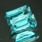 aqua blue natural tourmaline from Sri Lanka
