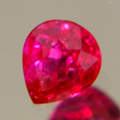 44 points of pure red Burma ruby no treatments, no window, no inclusions