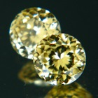 yellow diamond style zircons no heat untreated