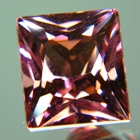 square shape natural sunset tourmaline