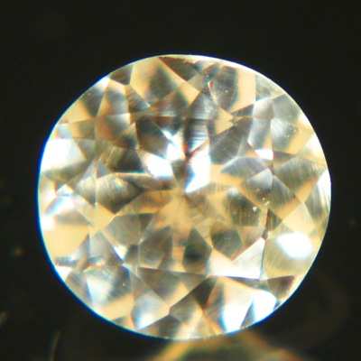 No heat natural pink yellow sapphire 5mm round