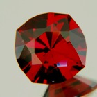 Ember orange red Burma spinel