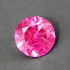 rhodolite garnet free of treatments, no window, almost no visible inclusions, no black-out even in l