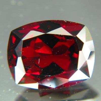 bordeaux red garnet in jumbo size