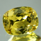 brazilian yellow zircon natural no heat
