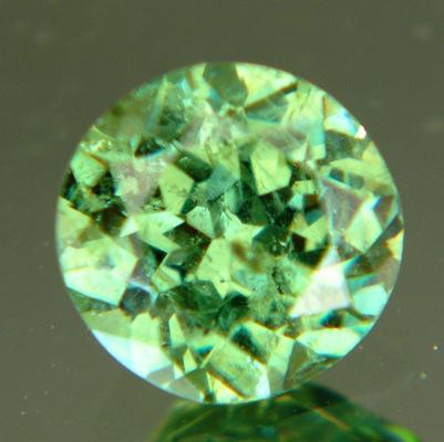 Round 2 carat demantoid