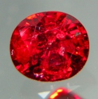 natural red spinel no heat
