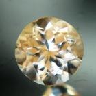 No heat orange sapphire