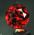 red zircon gemstone with no heat or treatment