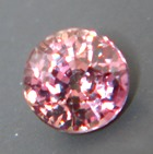 one quarter carat padparadscha unheated sapphire from Tanzania