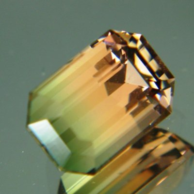 Multicolored clean Mozambique tourmaline