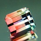Multicolored Mozambique tourmaline
